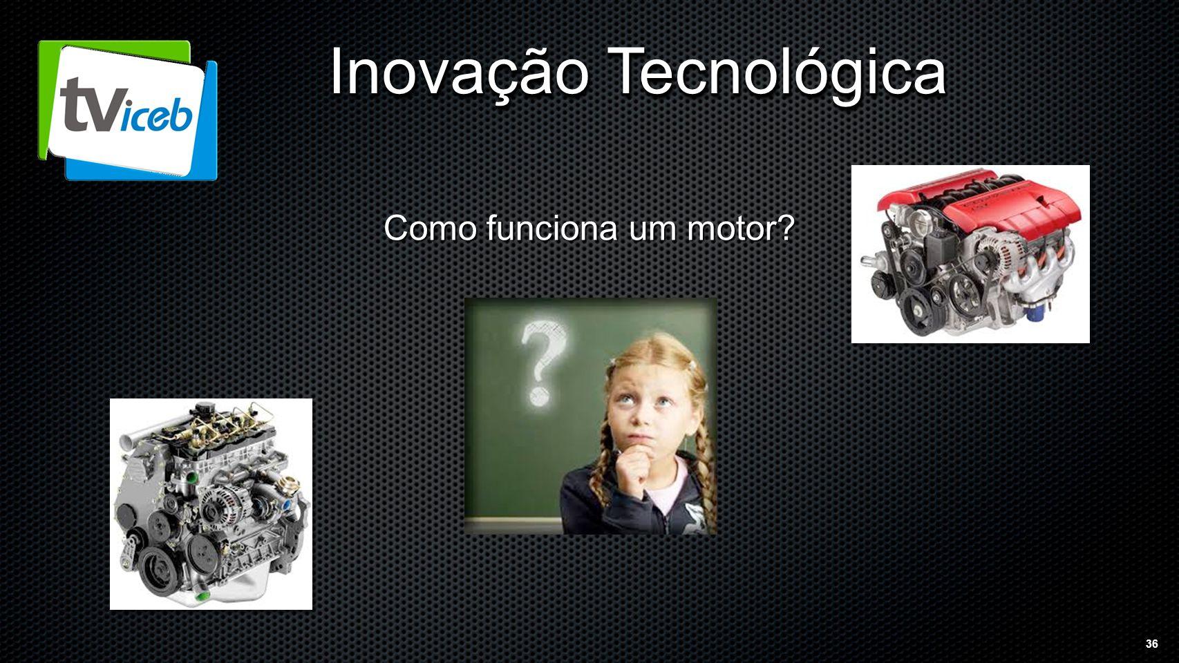 36 Inovação Tecnológica Como funciona um motor
