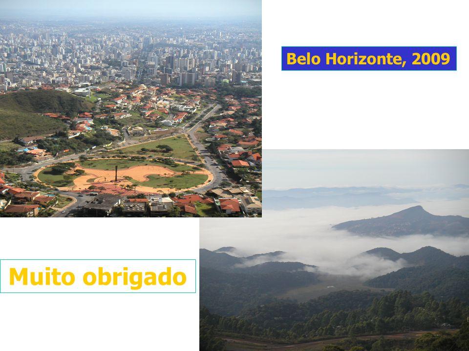 Muito obrigado Belo Horizonte, 2009