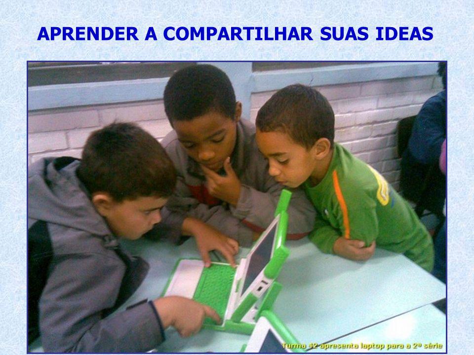 APRENDER A COMPARTILHAR SUAS IDEAS