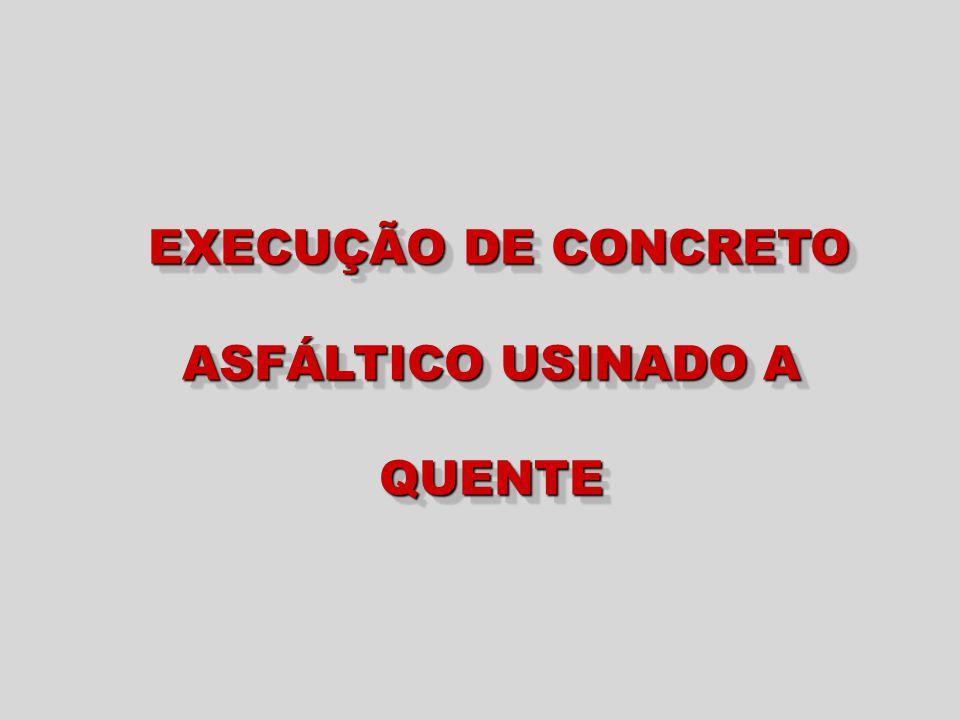 USINAS DE CONCRETO ASFÁLTICO