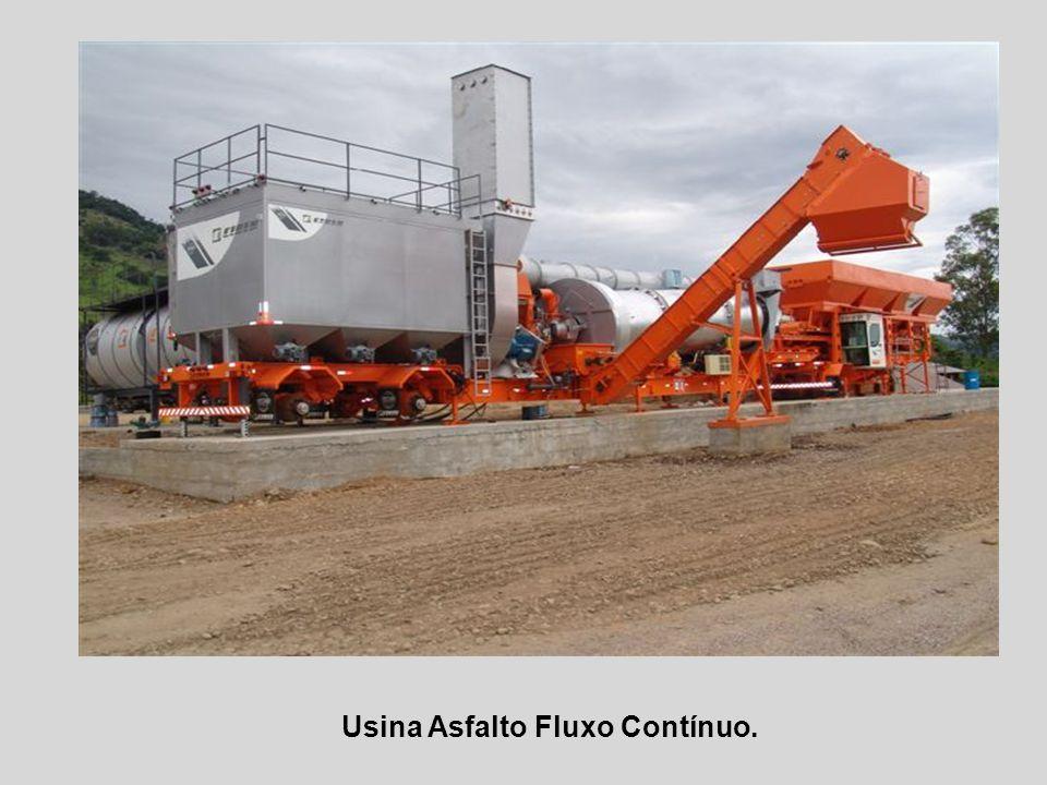 Usina Asfalto Fluxo Contínuo.