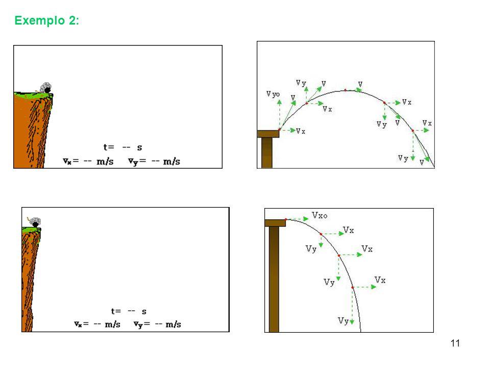 10 Exemplo1: Movimento de um projétil