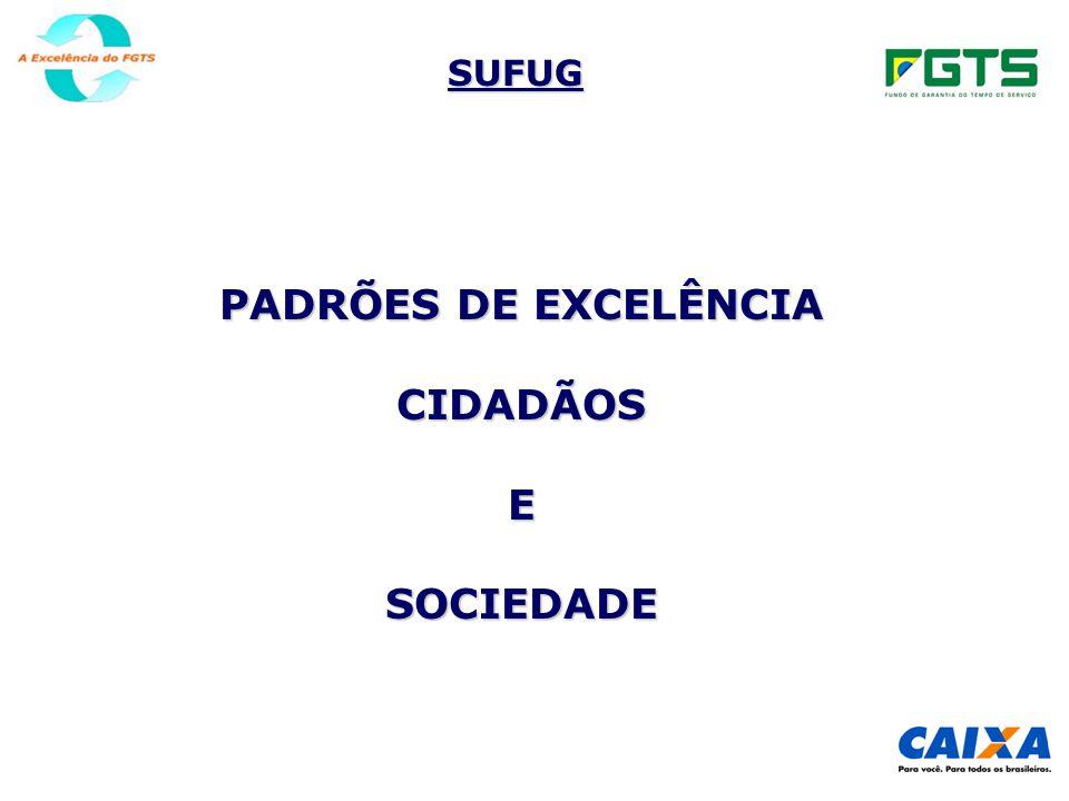 SUFUG PADRÕES DE EXCELÊNCIA CIDADÃOSESOCIEDADE