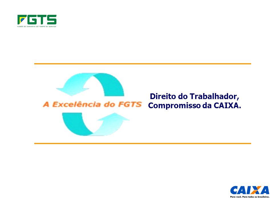 Direito do Trabalhador, Compromisso da CAIXA.