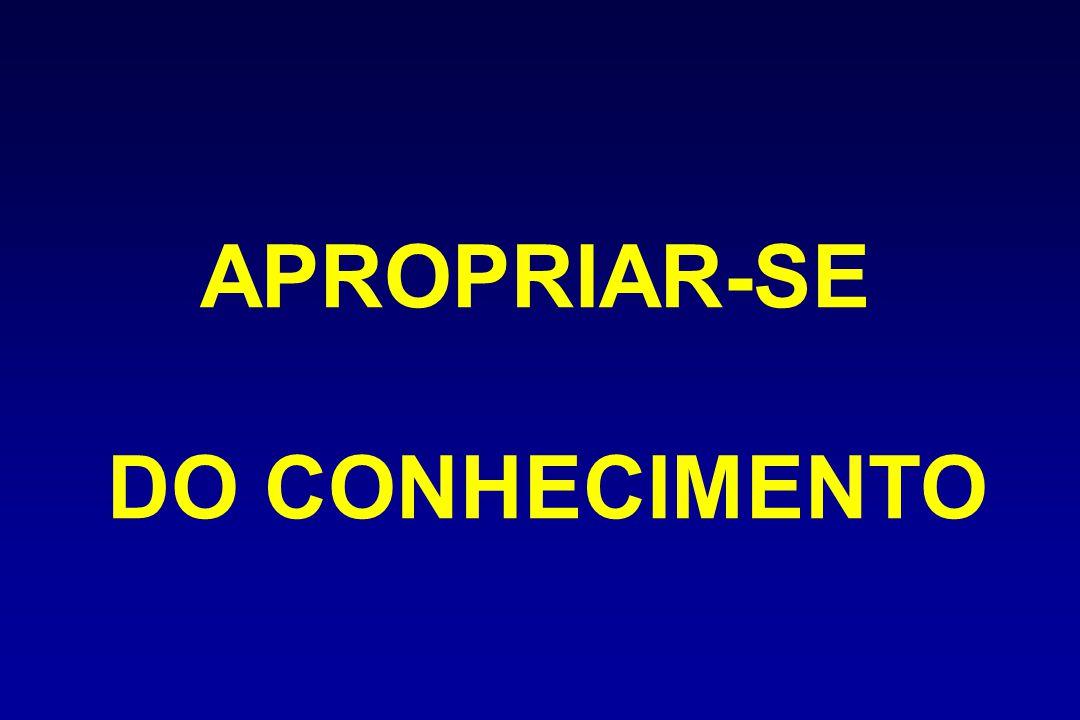 APROPRIAR-SE DO CONHECIMENTO