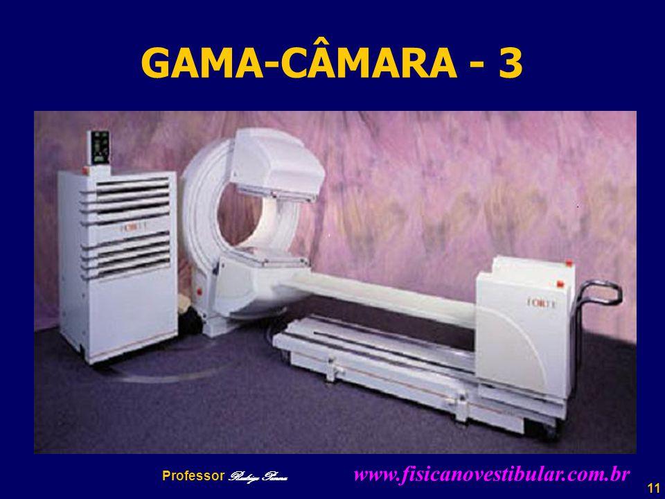 11 GAMA-CÂMARA - 3 Professor Rodrigo Penna www.fisicanovestibular.com.br
