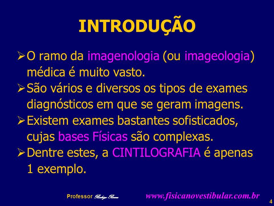 4 INTRODUÇÃO  O ramo da imagenologia (ou imageologia) médica é muito vasto.