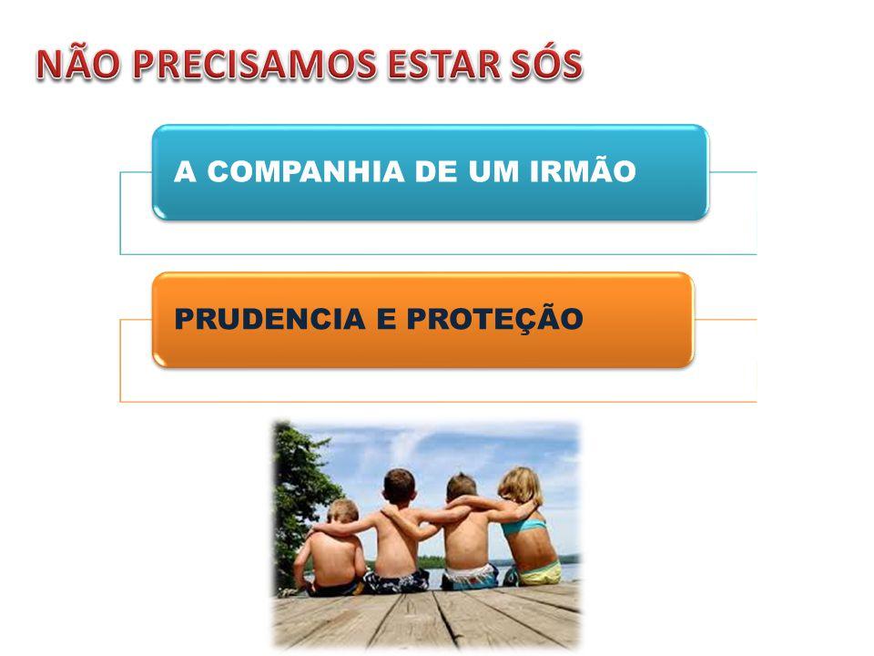 A COMPANHIA DE UM IRMÃOPRUDENCIA E PROTEÇÃO