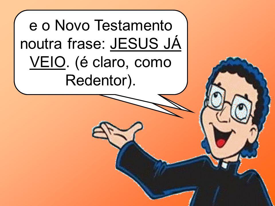 A Bíblia tem Jesus Cristo como o tema central.