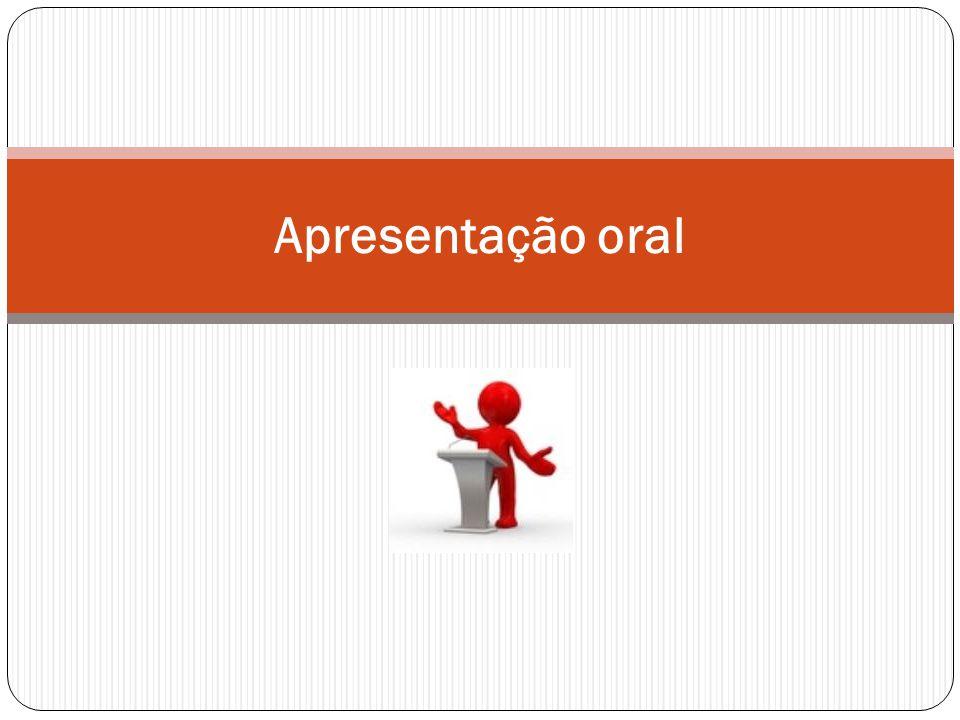 Apresentação oral
