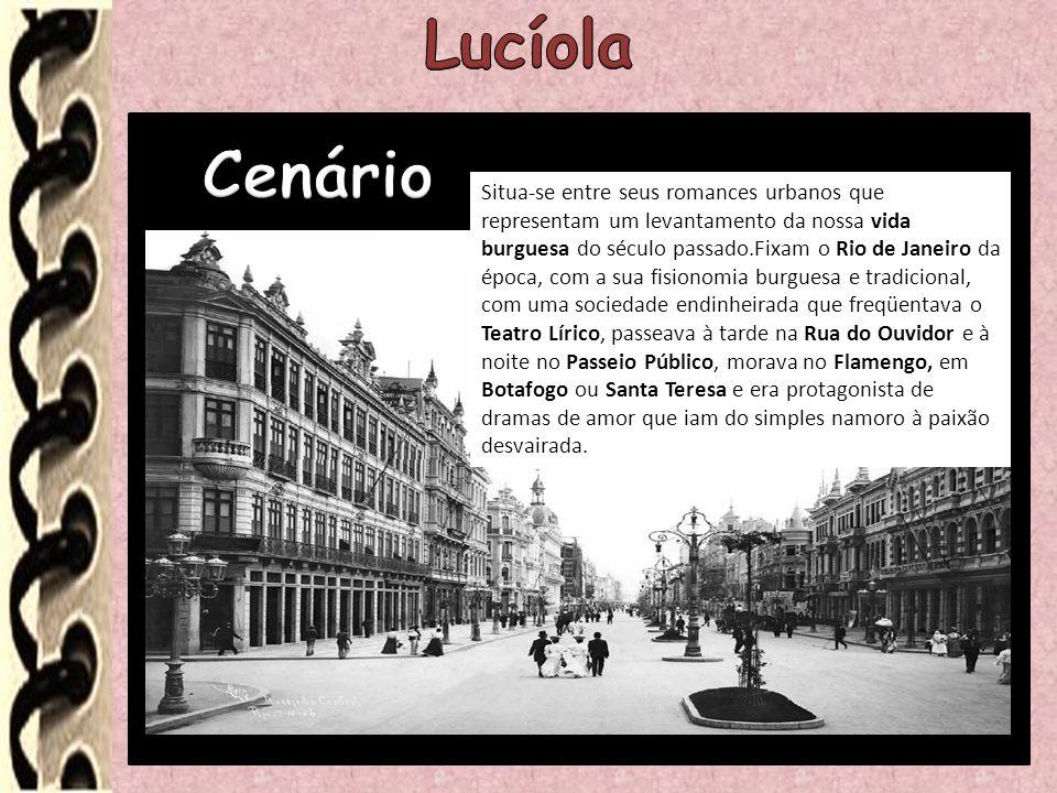 Situa-se entre seus romances urbanos que representam um levantamento da nossa vida burguesa do século passado.Fixam o Rio de Janeiro da época, com a s
