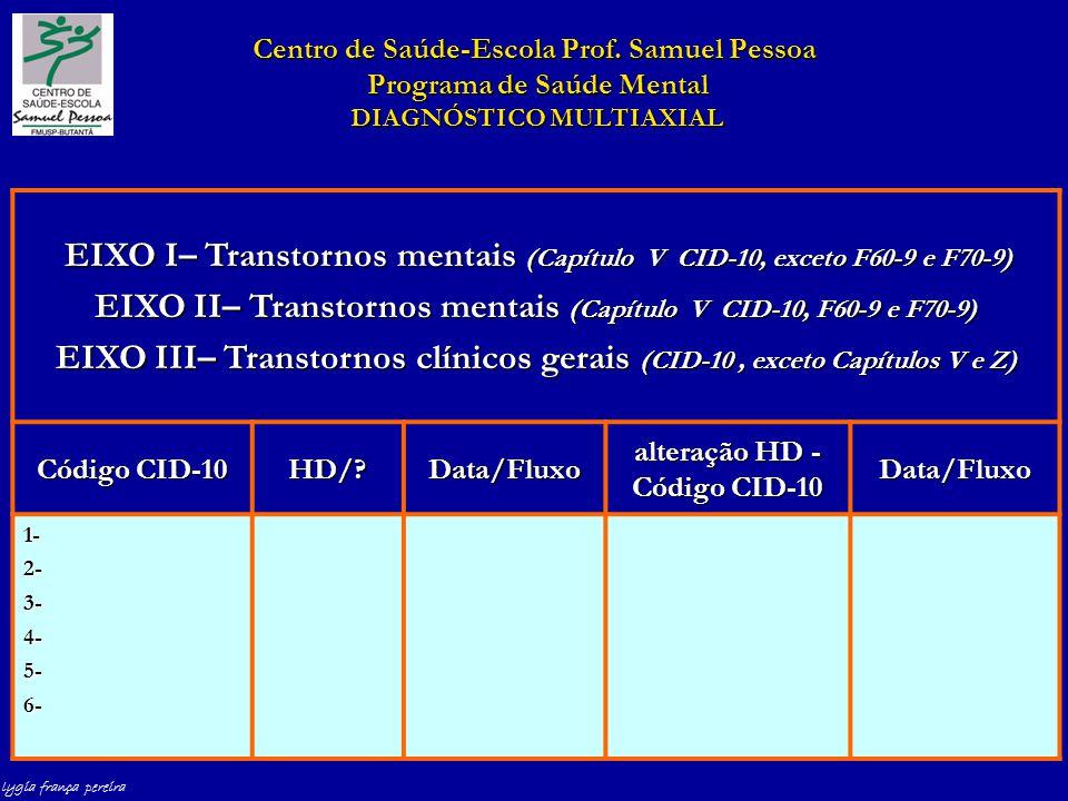 lygia frança pereira Centro de Saúde-Escola Prof.
