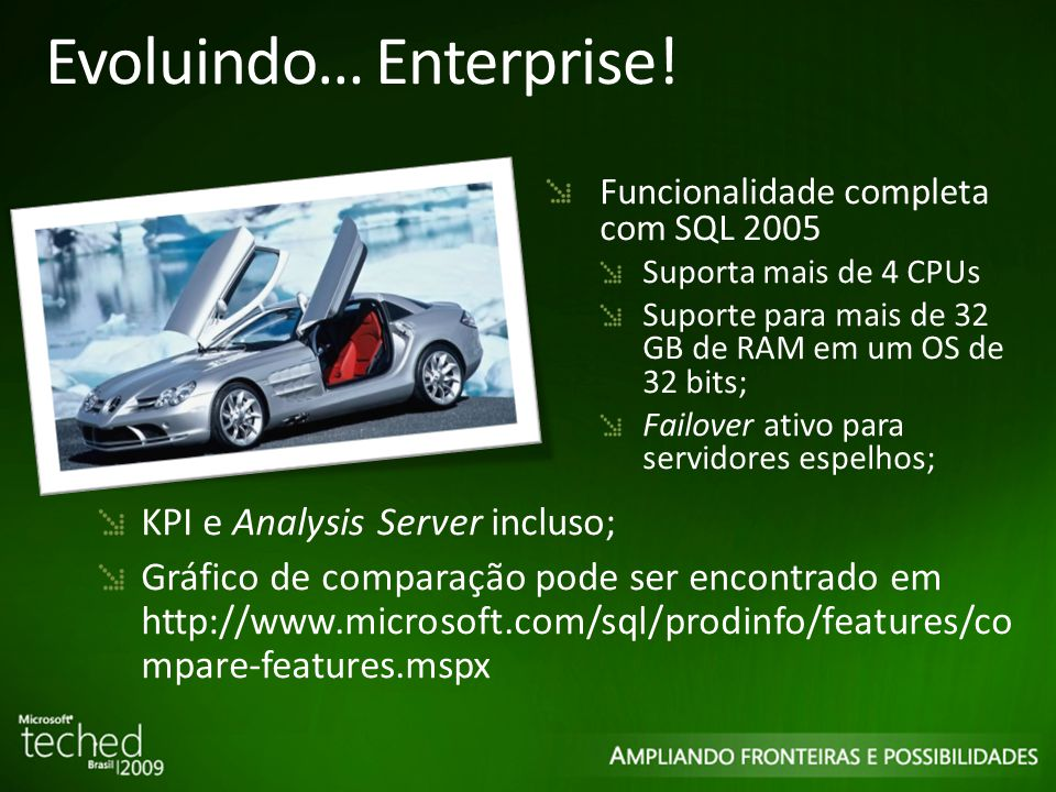 Evoluindo… Enterprise.