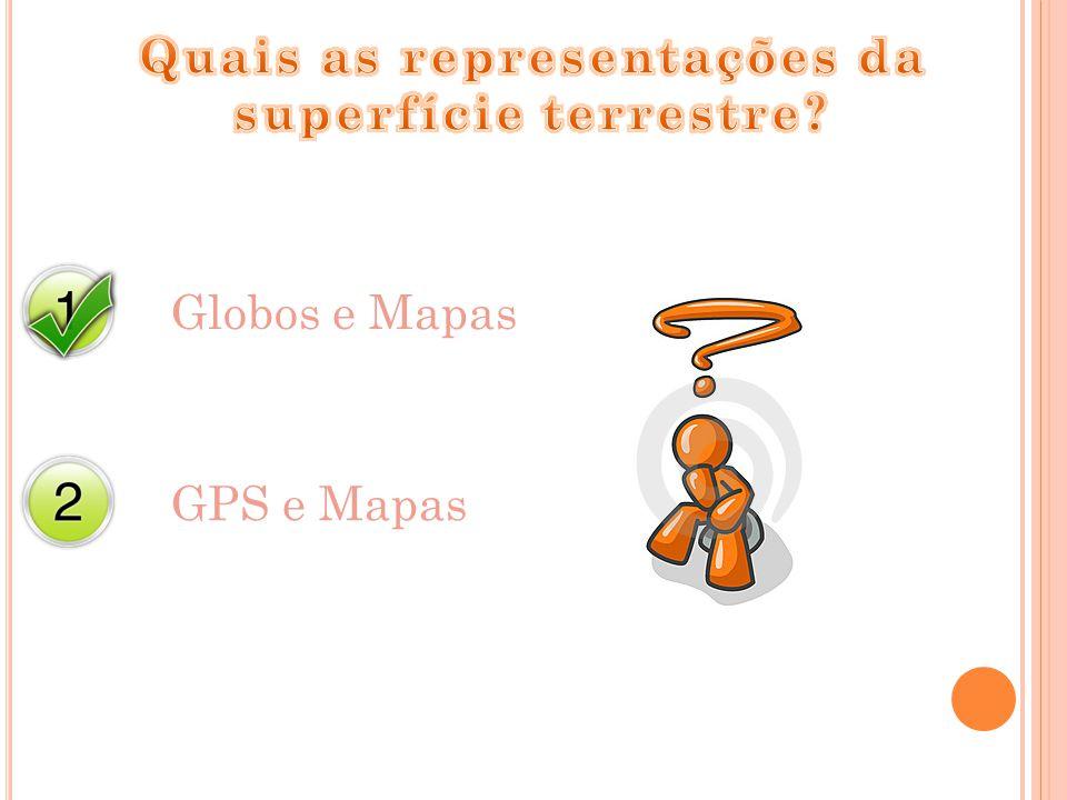 Globos e Mapas GPS e Mapas