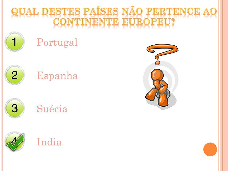 Portugal Espanha Suécia India