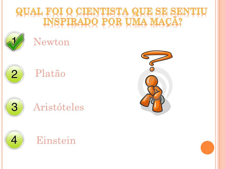 Newton Platão Aristóteles Einstein