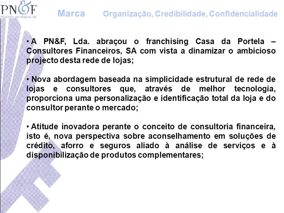 A PN&F, Lda. abraçou o franchising Casa da Portela – Consultores Financeiros, SA com vista a dinamizar o ambicioso projecto desta rede de lojas; Nova