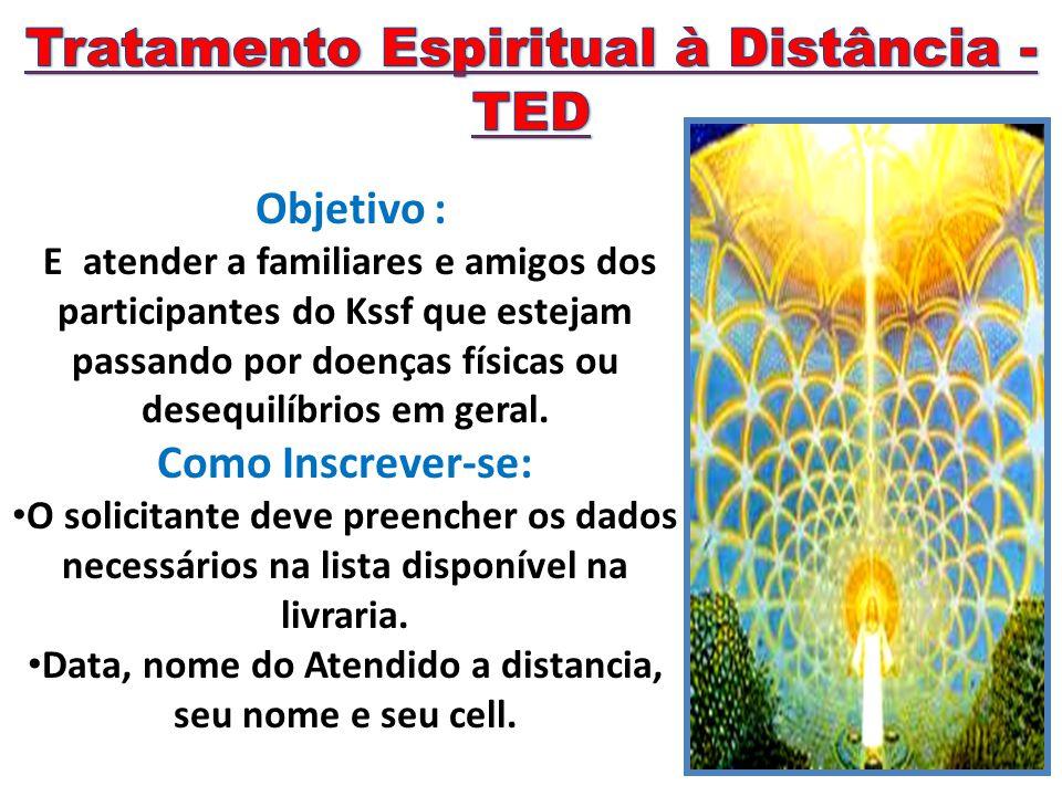 O TED é realizado com a participação do solicitante.
