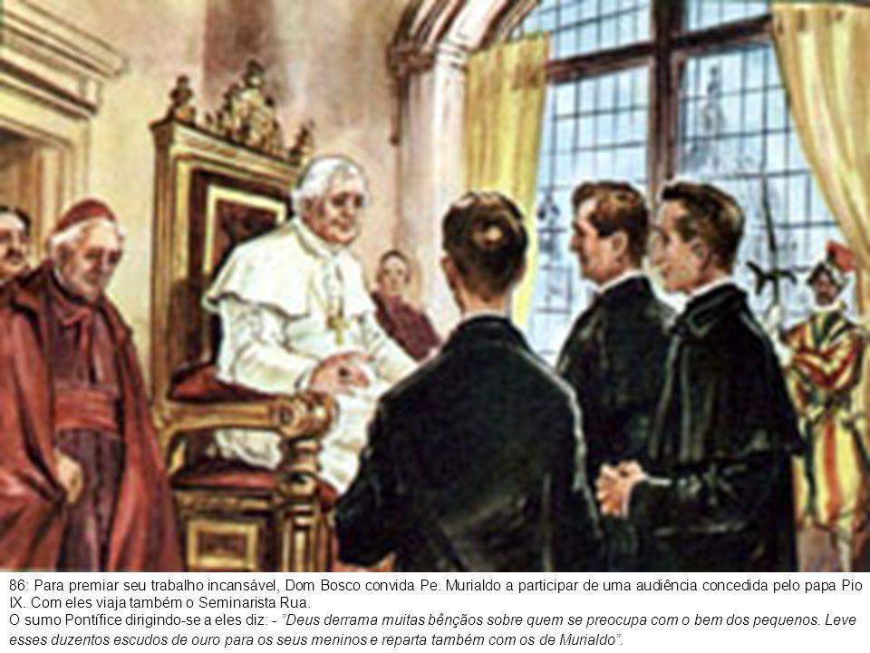 87: A doação proporcionou um alegre piquenique até a Basílica de Superga.