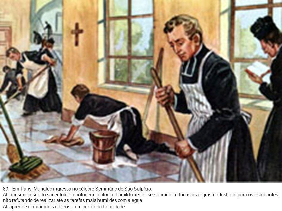 90: Depois de um ano de intensa vida eclesiástica, Murialdo se dirige a Londres.