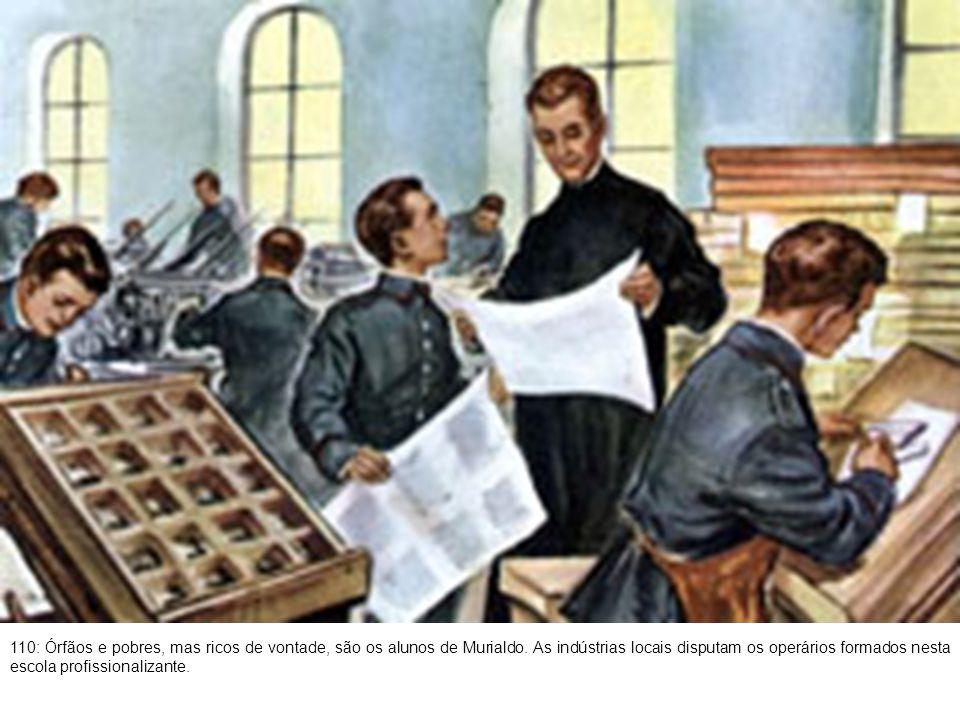 111: A comissão organizadora da Exposição Internacional de Turim, inclui Murialdo entre seus membros.