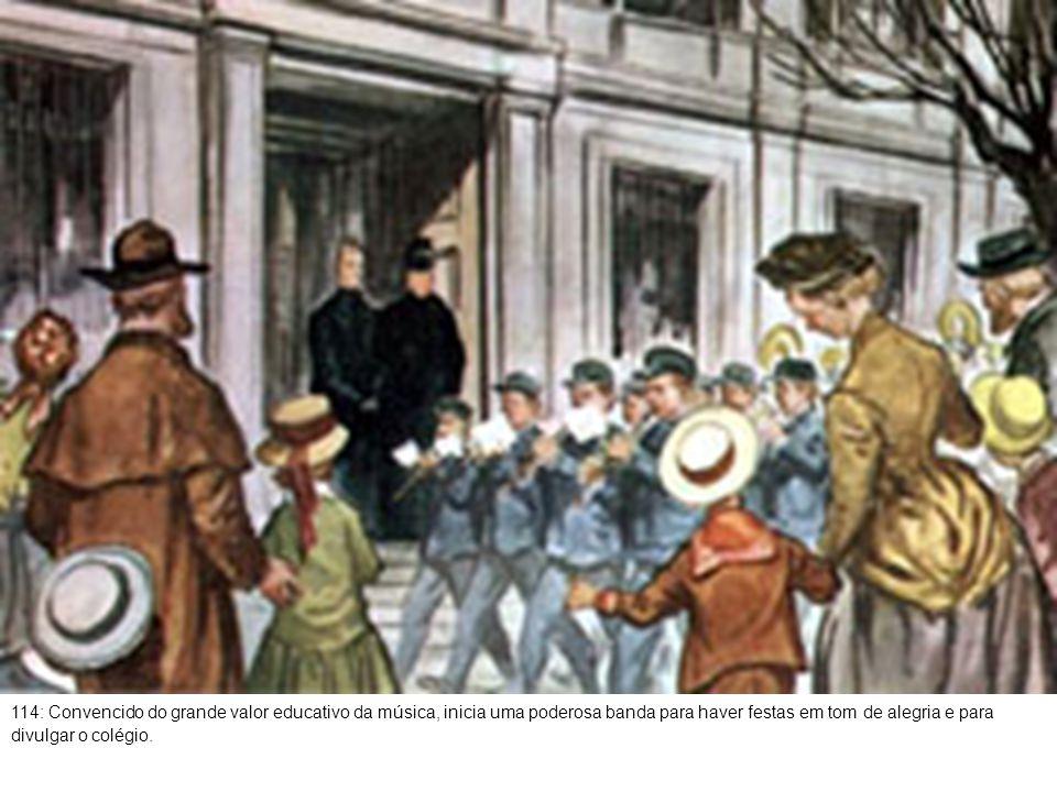115: A valorosa Companhia Teatral arranca aplausos de seleto público no teatro da escola.