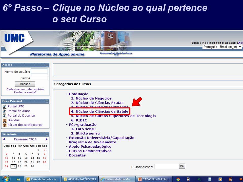 Prof. Jefferson Baptista Macedo / 2013 17º Passo – Bons Estudos!!!