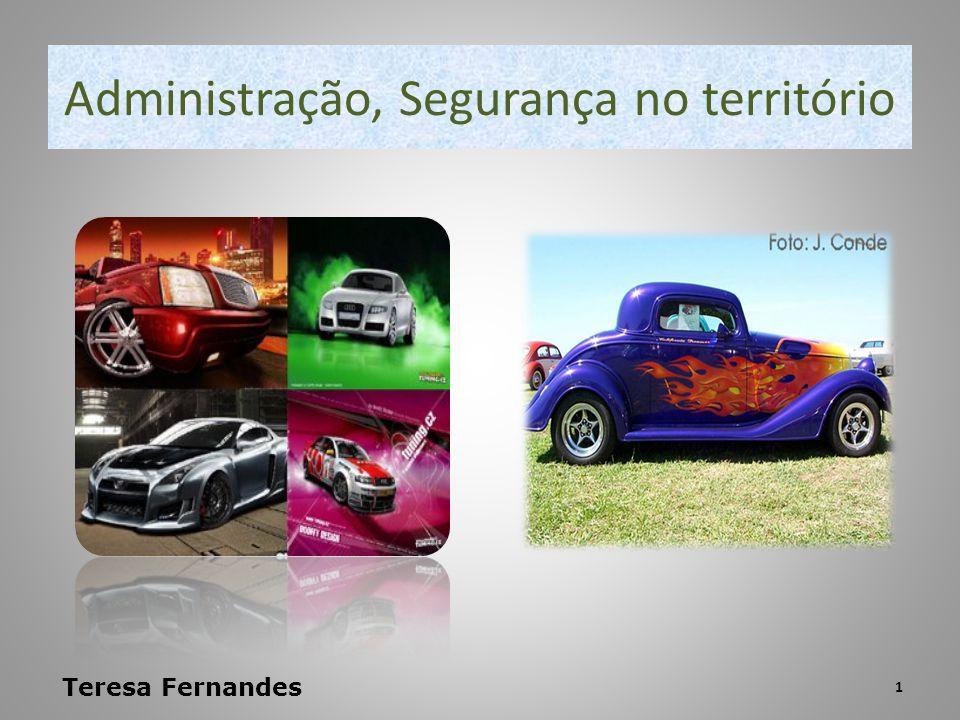 Administração, Segurança no território Teresa Fernandes 1