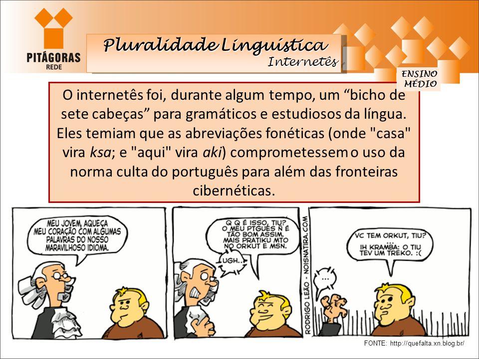 """O internetês foi, durante algum tempo, um """"bicho de sete cabeças"""" para gramáticos e estudiosos da língua. Eles temiam que as abreviações fonéticas (on"""