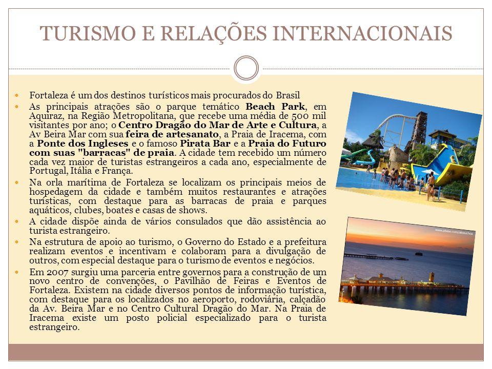 EDUCAÇÃO Fortaleza é um importante centro educacional tanto no ensino médio como no superior, não só do estado do Ceará, mas também da porção Norte e Nordeste do País.