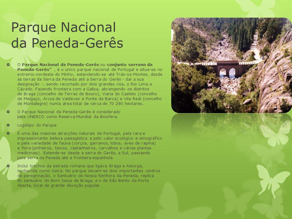 Parque Nacional da Peneda-Gerês  O Parque Nacional da Peneda-Gerês ou conjunto serrano da Peneda-Gerês