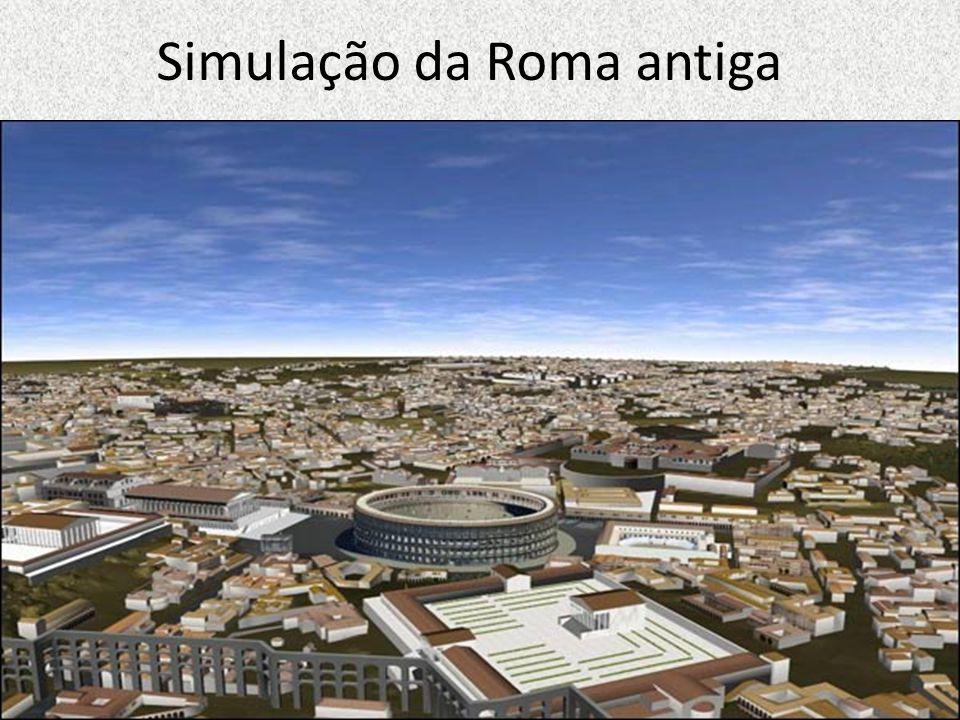 Simulação da Roma antiga
