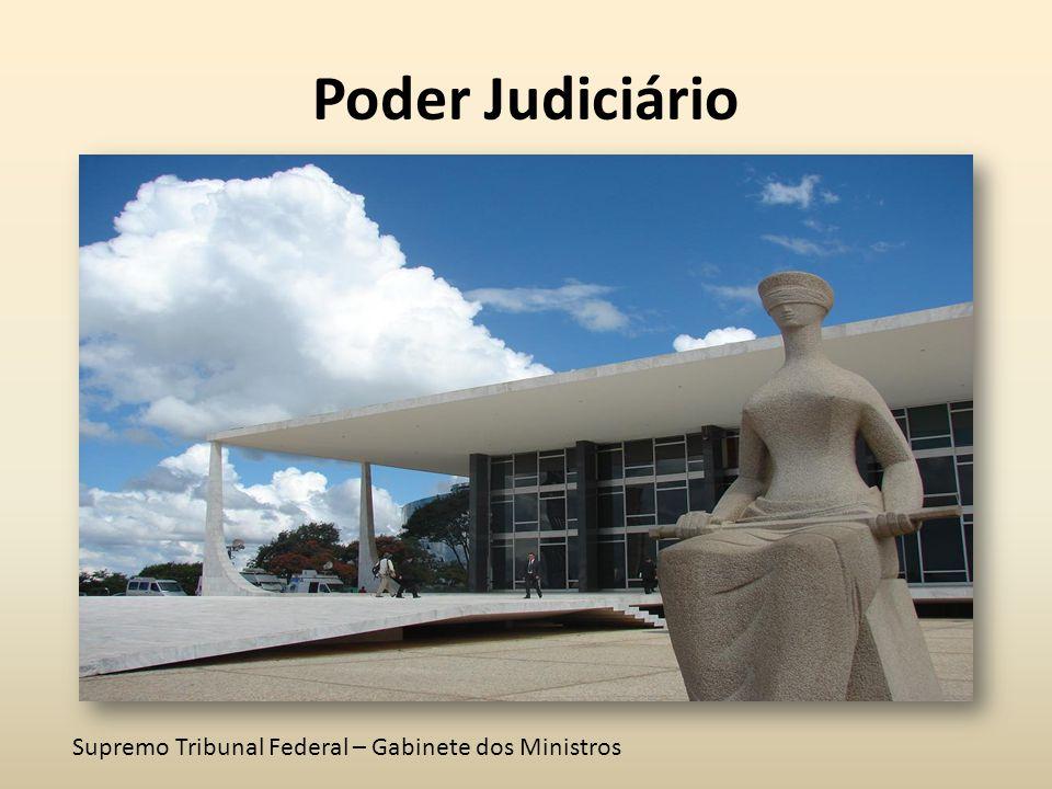Poder Judiciário Supremo Tribunal Federal – Gabinete dos Ministros