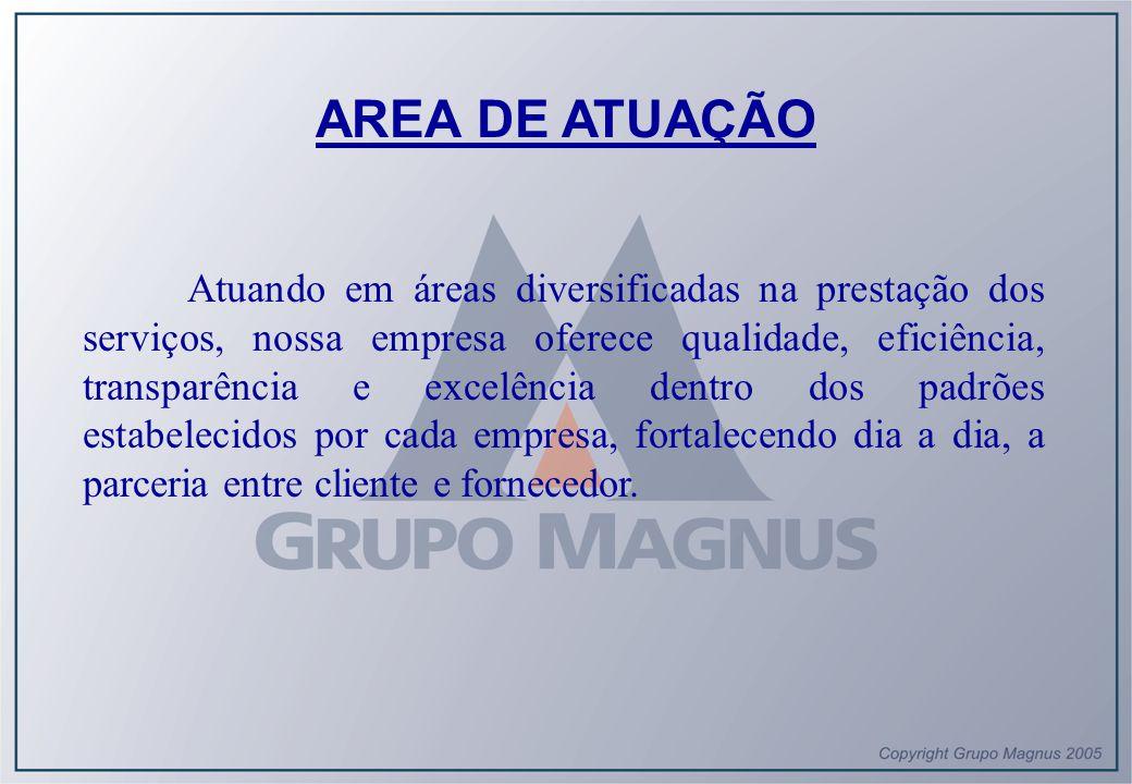 Considerações finais Para oferecermos o ALTO PADRÃO-MAGNUS DE QUALIDADE EM ATENDIMENTO , instituímos Unidades de Serviço operacionalmente autônomas para supervisionamento In loco .