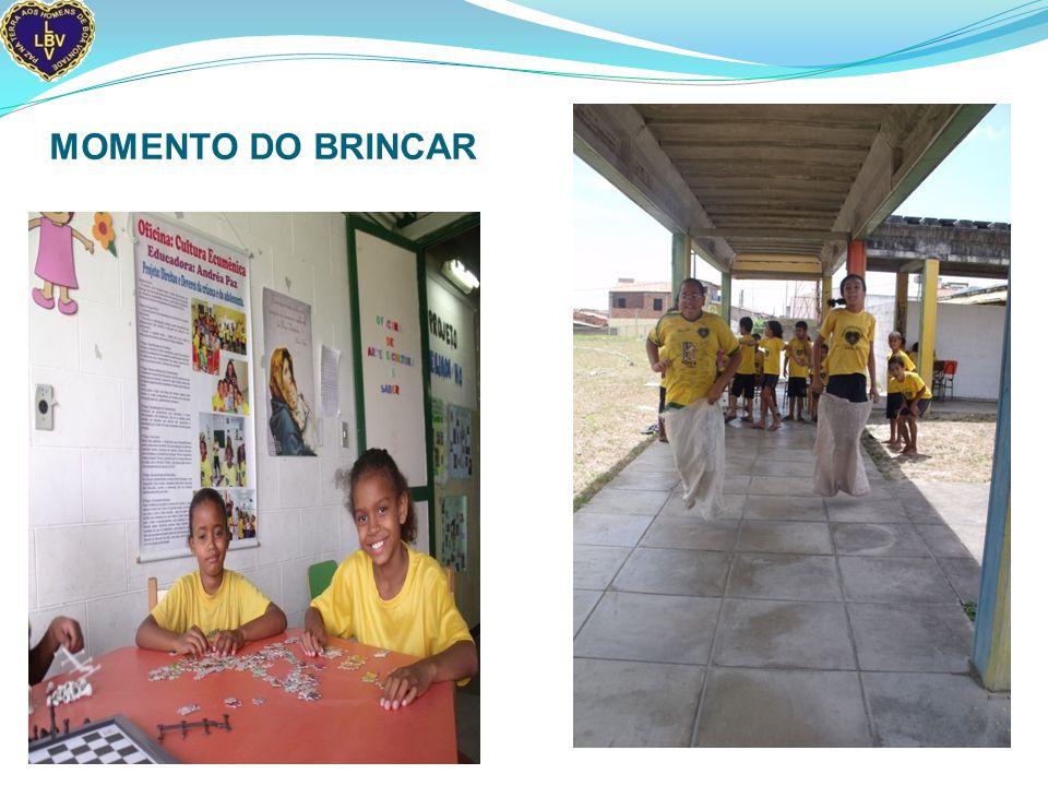 MOMENTO DO BRINCAR