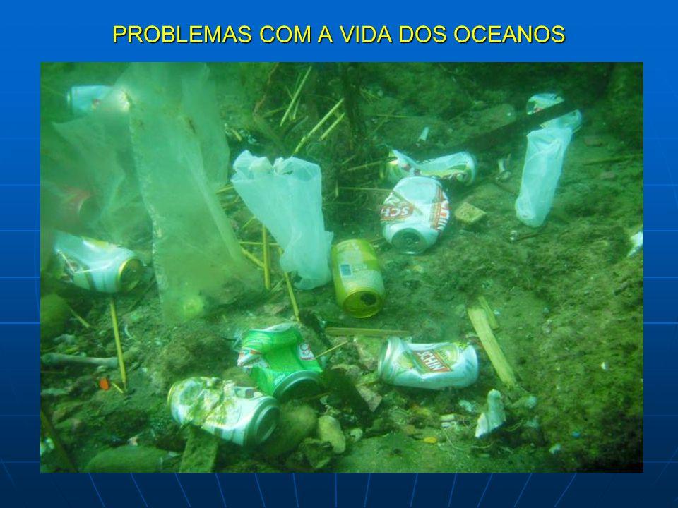 PROBLEMAS COM A VIDA DOS OCEANOS
