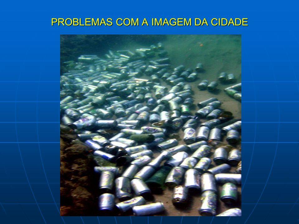 PROBLEMAS COM A IMAGEM DA CIDADE