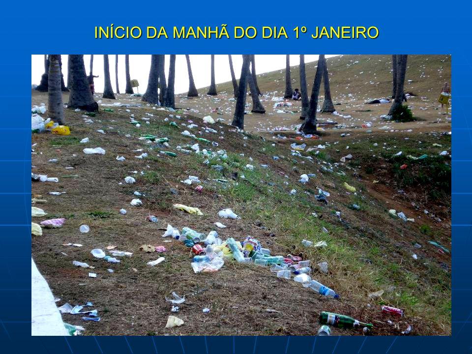 INÍCIO DA MANHÃ DO DIA 1º JANEIRO