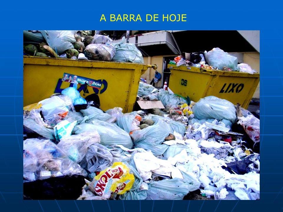 A BARRA DE HOJE