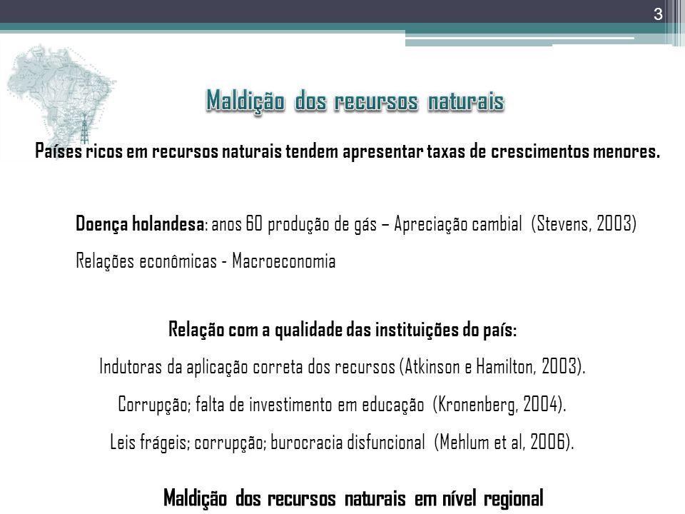 Distribuição dos Royalties e Participações especiais ao Estado do Rio de Janeiro e aos seus Municípios 1997 – 2008 (R$ mil) Fonte: Honorato, 2008 13