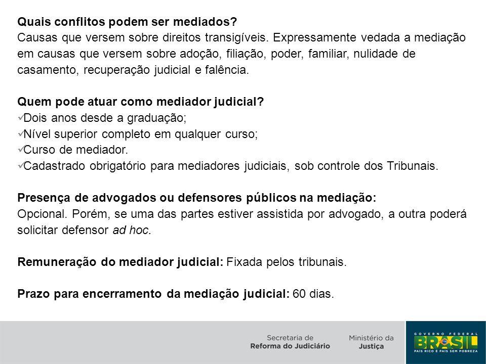 Inovação: Estabelece os parâmetros para a utilização preferencial da mediação como meio de resolução de conflitos na Administração Pública.
