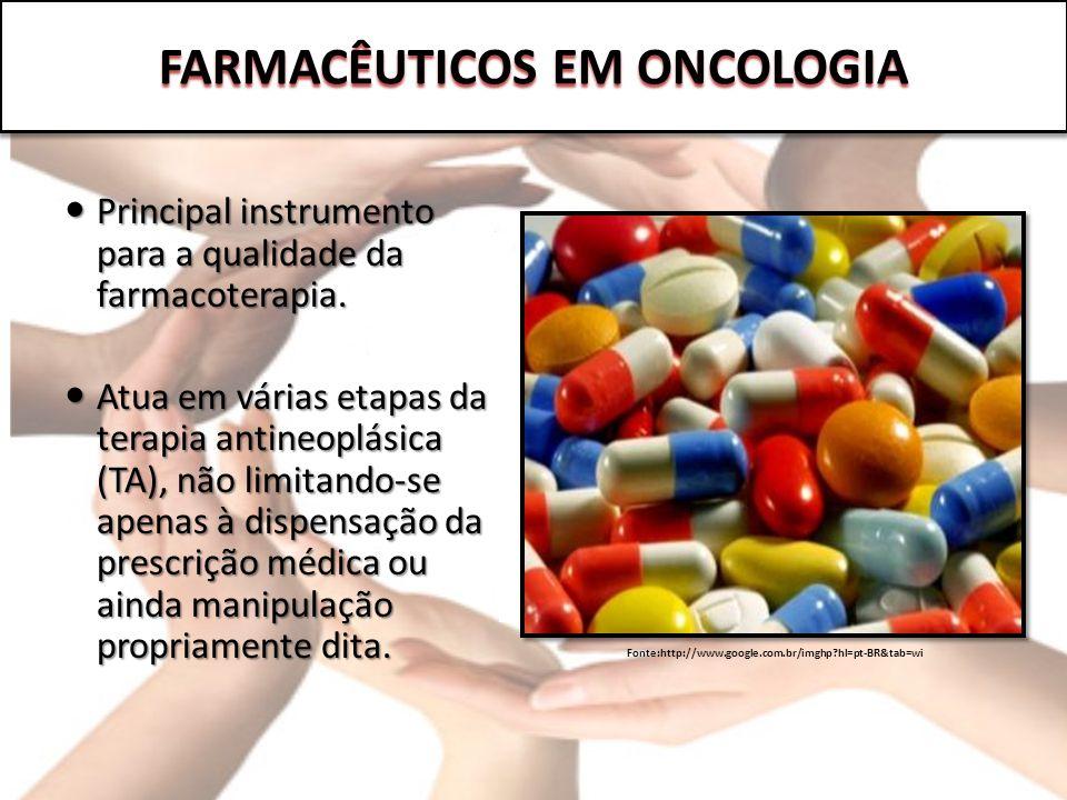 Principal instrumento para a qualidade da farmacoterapia. Principal instrumento para a qualidade da farmacoterapia. Atua em várias etapas da terapia a