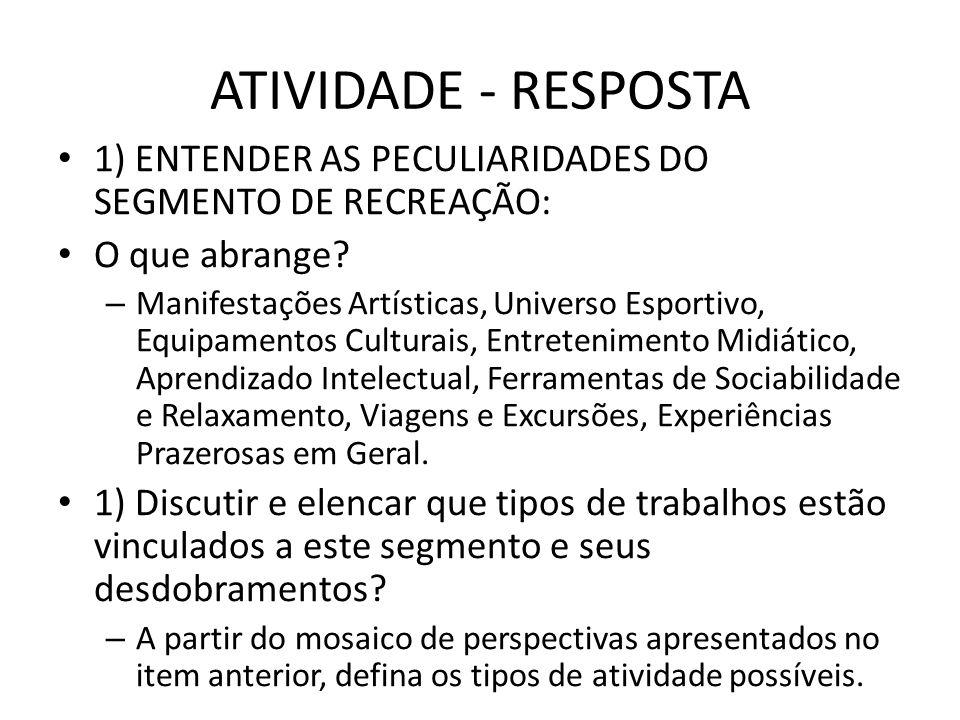 EXEMPLO DE SUB-SEGMENTO: BUFFETS INFANTIS DIMENSÃO: Em 2010 movimentou R$ 750 milhões no Brasil.