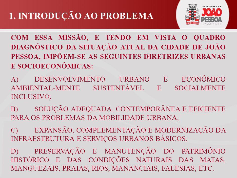 2.JOÃO PESSOA: QUADRO SOCIO- ECONÔMICO DE REFERÊNCIA O DESEMPENHO DA ECONOMIA DE JOÃO PESSOA NÃO VEM SENDO À ALTURA DO SEU CRESCIMENTO POPULACIONAL.