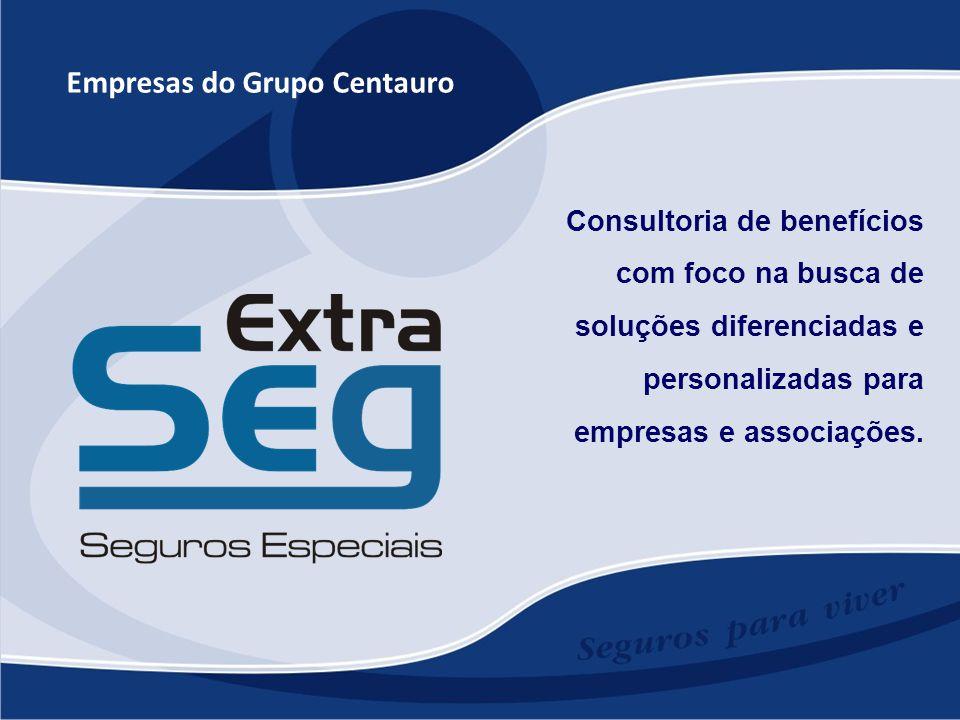 Empresas do Grupo Centauro Consultoria de benefícios com foco na busca de soluções diferenciadas e personalizadas para empresas e associações.