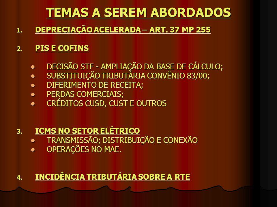 Nº 89 – 12.04.2004 - 9ª REGIÃO FISCAL Nº 89 – 12.04.2004 - 9ª REGIÃO FISCAL EMENTA: ÀS RECEITAS DECORRENTES DE CONTRATOS E VENDA DE ENERGIA ELÉTRICA FIRMADOS ANTES DE 31 DE OUTUBRO DE 2003, COM PRAZO SUPERIOR A UM ANO, A PREÇOS PREVIAMENTE PACTUADOS E DEFINIDOS NOS RESPECTIVOS INSTRUMENTOS CONTRATUAIS, AINDA QUE SUJEITOS A REAJUSTAMENTO, APLICAM-SE OS ARTS.