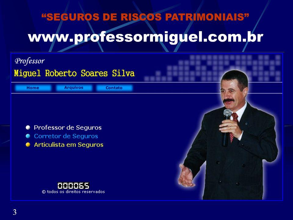 MIGUEL ROBERTO SOARES SILVA Sou natural de Itatinga Dia 16/08/2003 completarei 42 anos trabalhando com seguros.