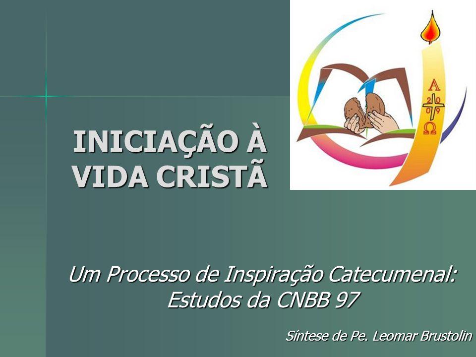 INICIAÇÃO À VIDA CRISTÃ Um Processo de Inspiração Catecumenal: Estudos da CNBB 97 Síntese de Pe. Leomar Brustolin
