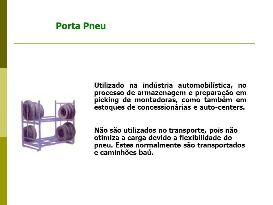 Utilizado na indústria automobilística, no processo de armazenagem e preparação em picking de montadoras, como também em estoques de concessionárias e auto-centers.