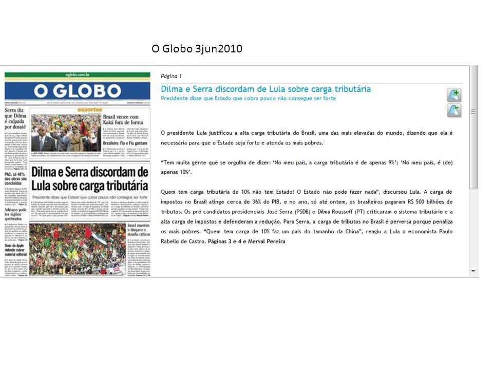 O Globo 3jun2010